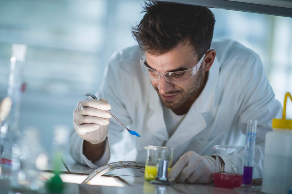 Research and Approvals - Scientist in lab